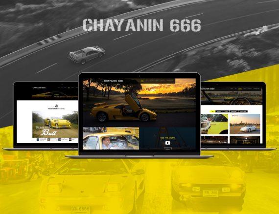 ออกแบบเว็บไซต์ ChayaninTeam.com