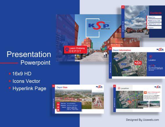 ผลงานออกแบบ Presentation Powerpoint