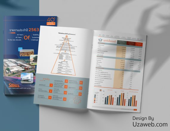 ออกแบบรายงานประจำปี 2563 บริษัท ไทยสแตนเลย์การไฟฟ้า จำกัด (มหาชน)